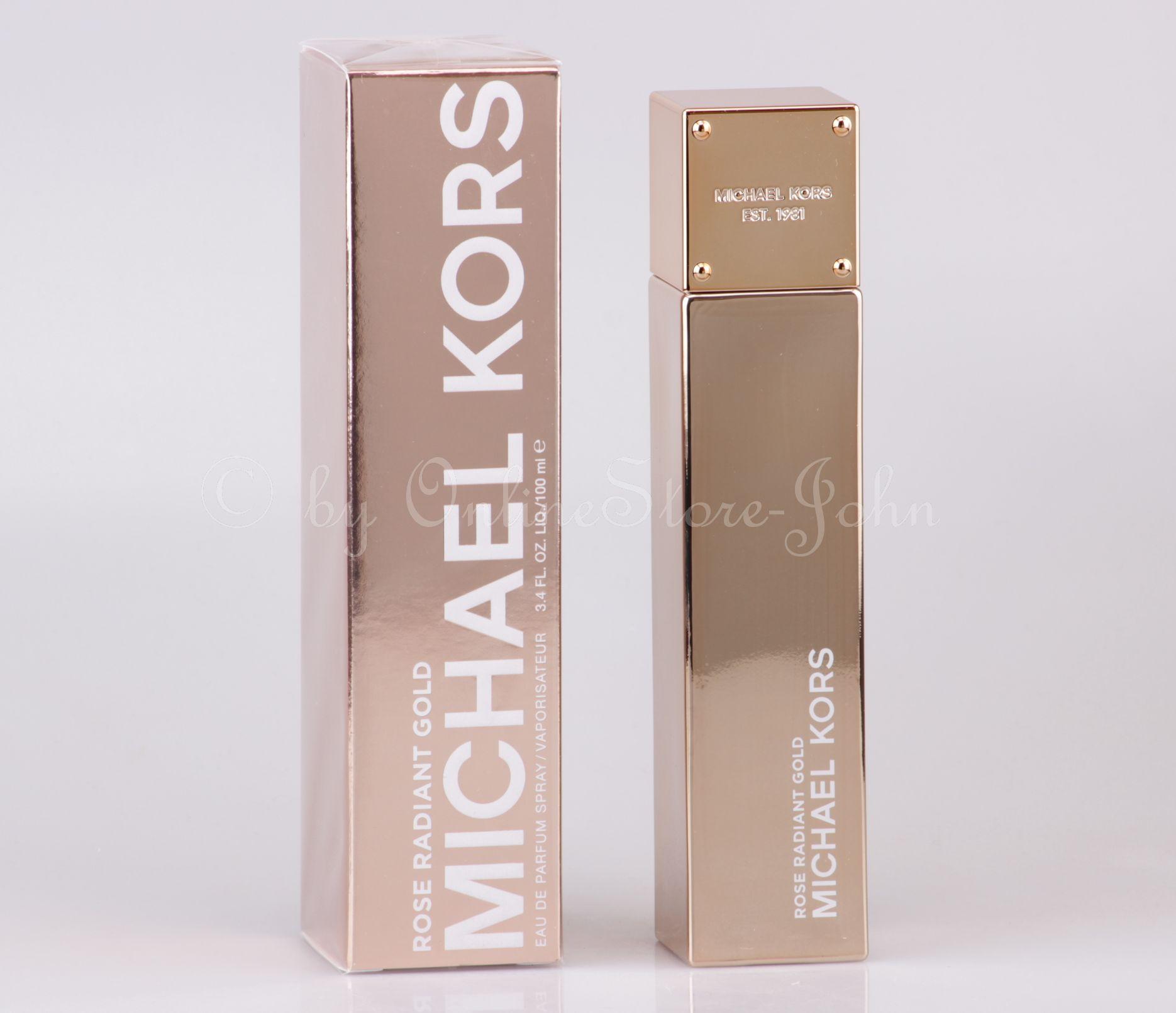 michael kors rose radiant gold 100ml edp eau de parfum. Black Bedroom Furniture Sets. Home Design Ideas