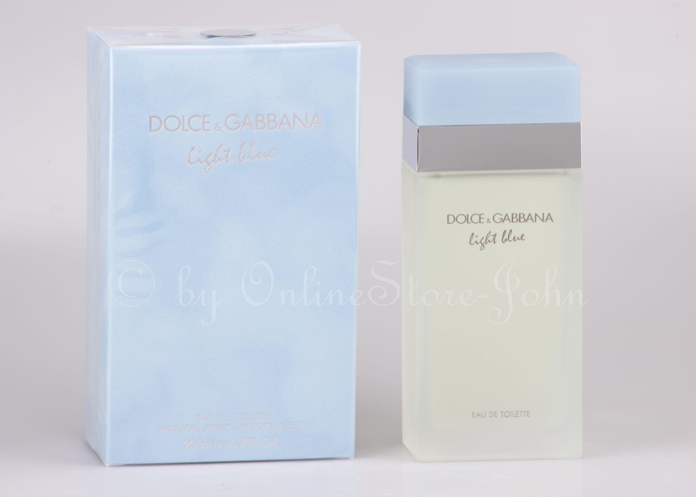 719f0814f4e273 Dolce   Gabbana - Light Blue pour Femme - 200ml EDT Eau de Toilette