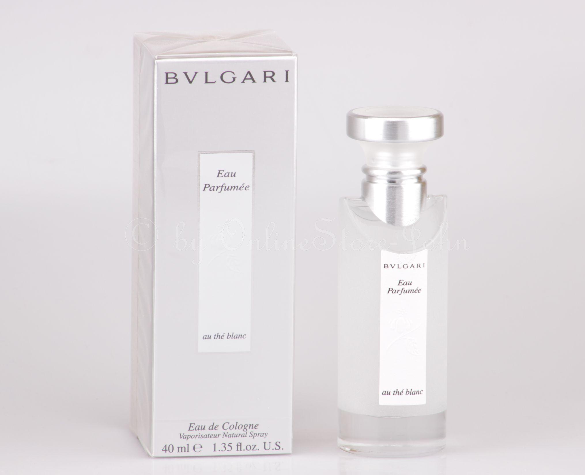 Bvlgari - Eau Parfumee Au the Blanc - 40ml EDC Eau de Cologne bd44704b568