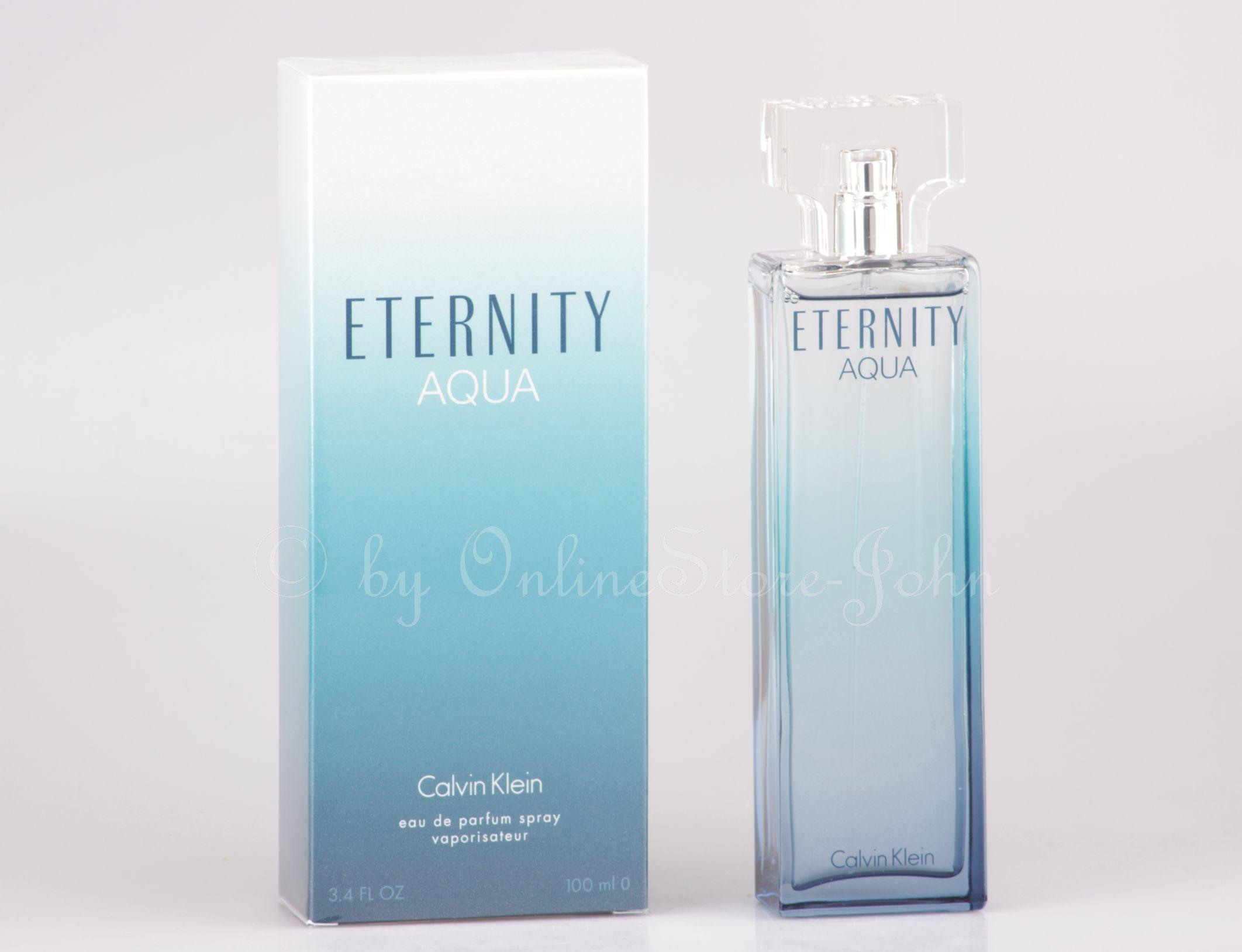 Calvin Klein Eternity Aqua 100ml Edp Eau De Parfum