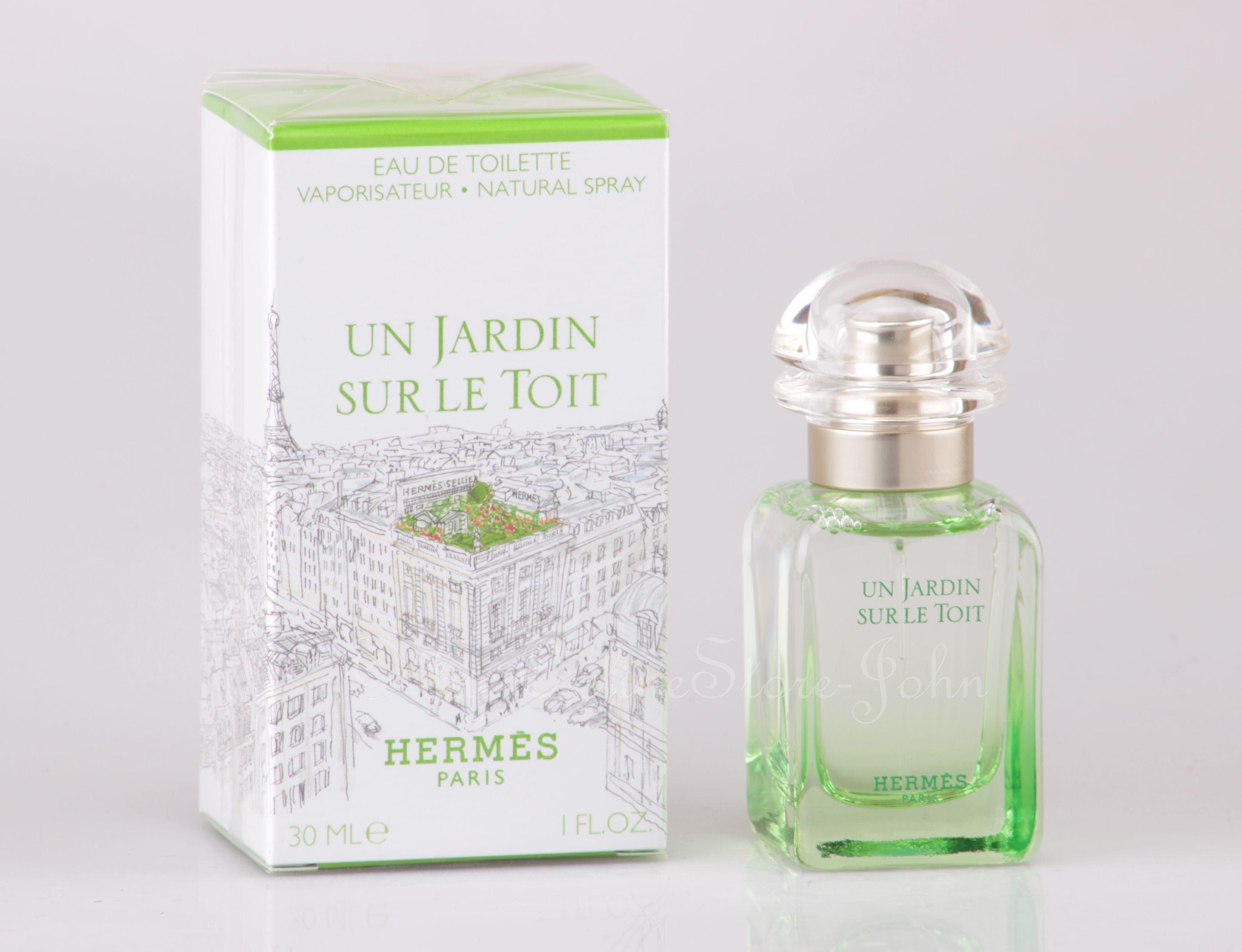 Hermes un jardin sur le toit 30ml edt eau de toilette for Jardin hermes