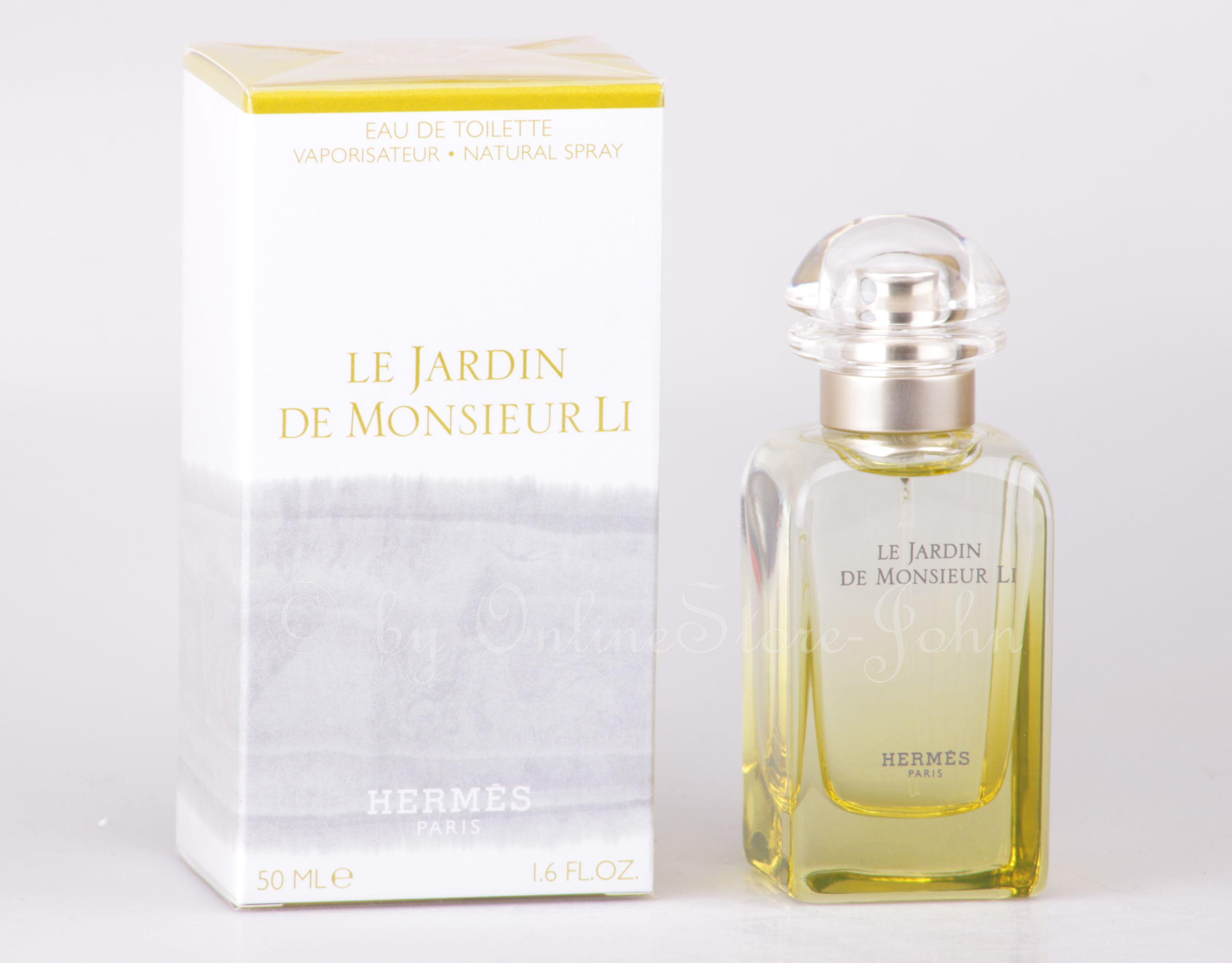 Hermes le jardin de monsieur li 50ml edt eau de toilette for Jardin hermes