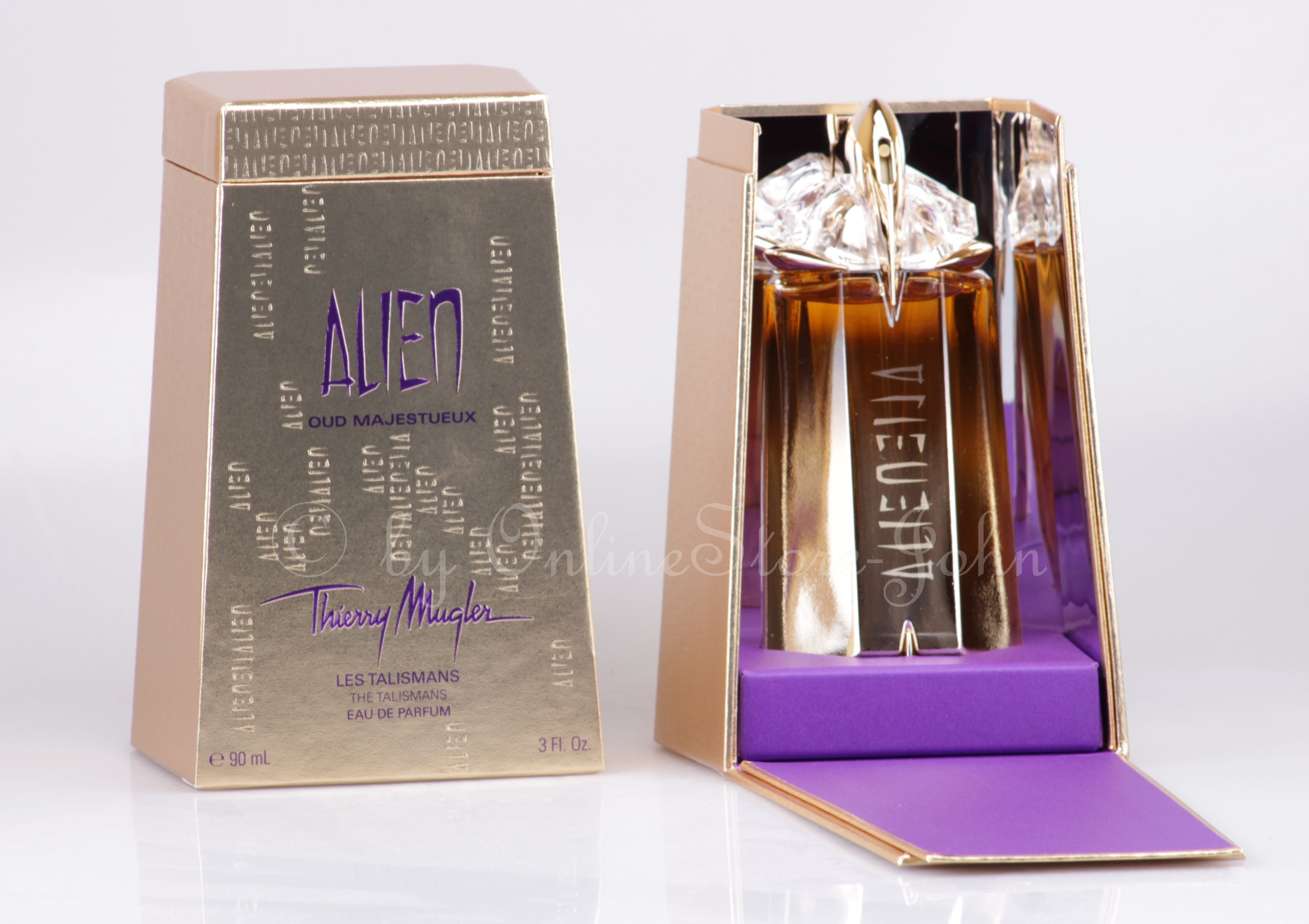 thierry mugler alien oud majestueux 90ml edp eau de parfum. Black Bedroom Furniture Sets. Home Design Ideas