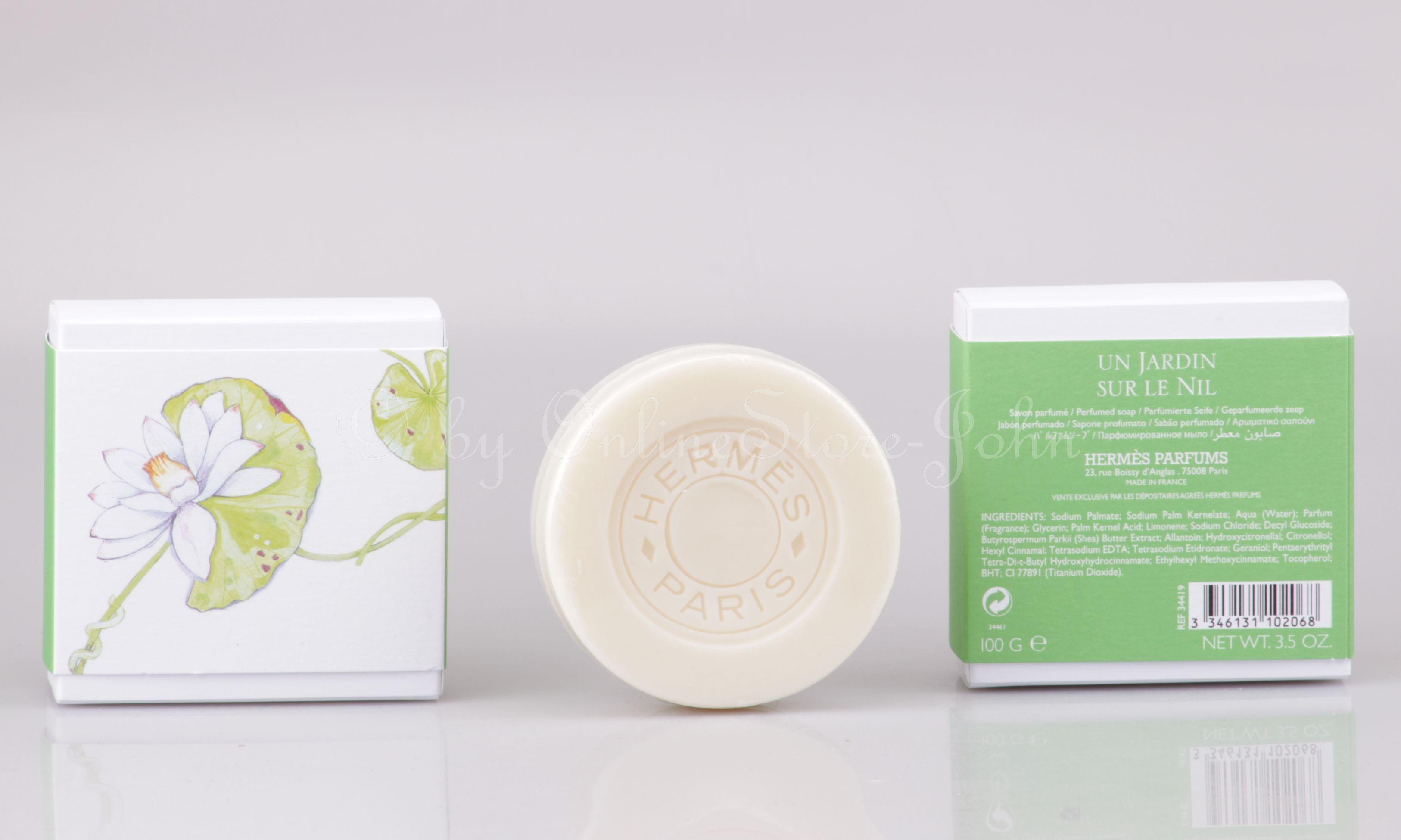 Hermes Un Jardin Sur Le Nil 100g Parfümierte Seife Perfumed Soap