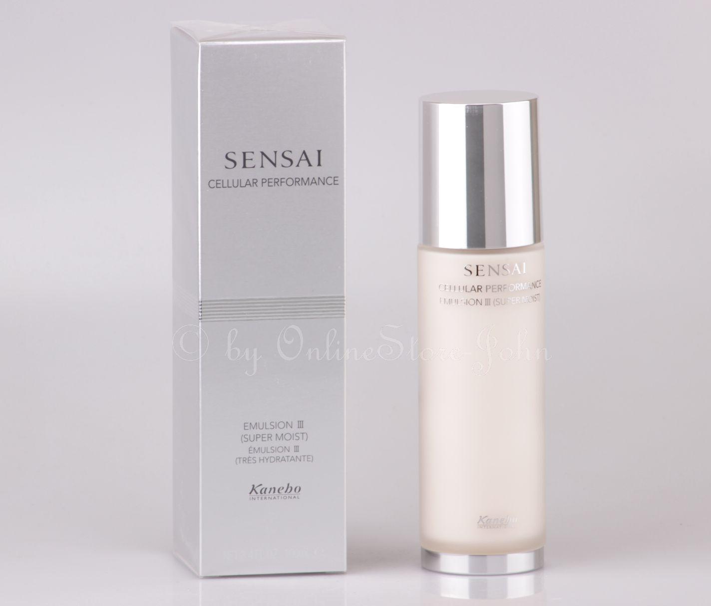 20076b6623e KANEBO Sensai - Cellular Performance Emulsion III (Super Moist) 100ml
