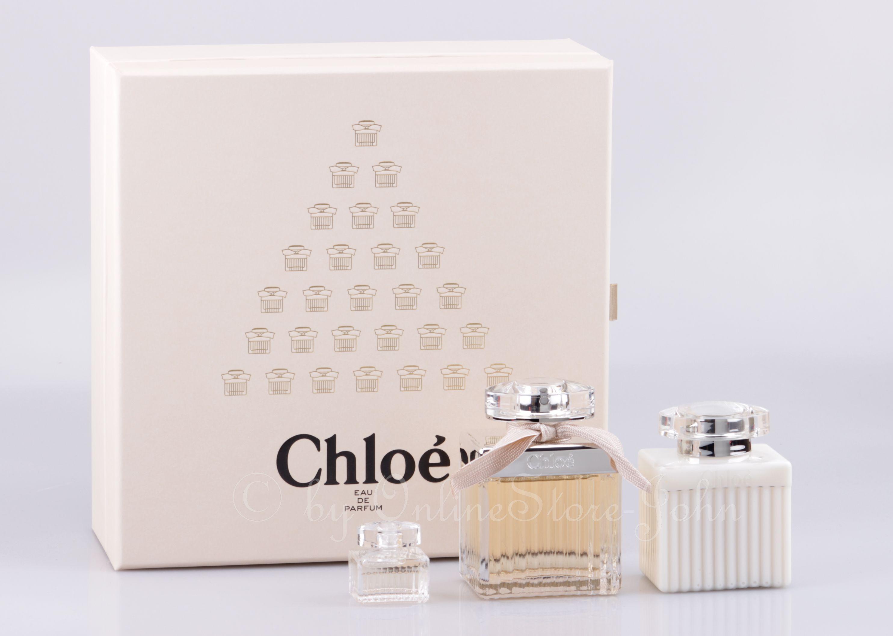 Chloe - Signature Geschenk-Set - 75ml EDP + 5ml EDP + 100ml Bodylotion