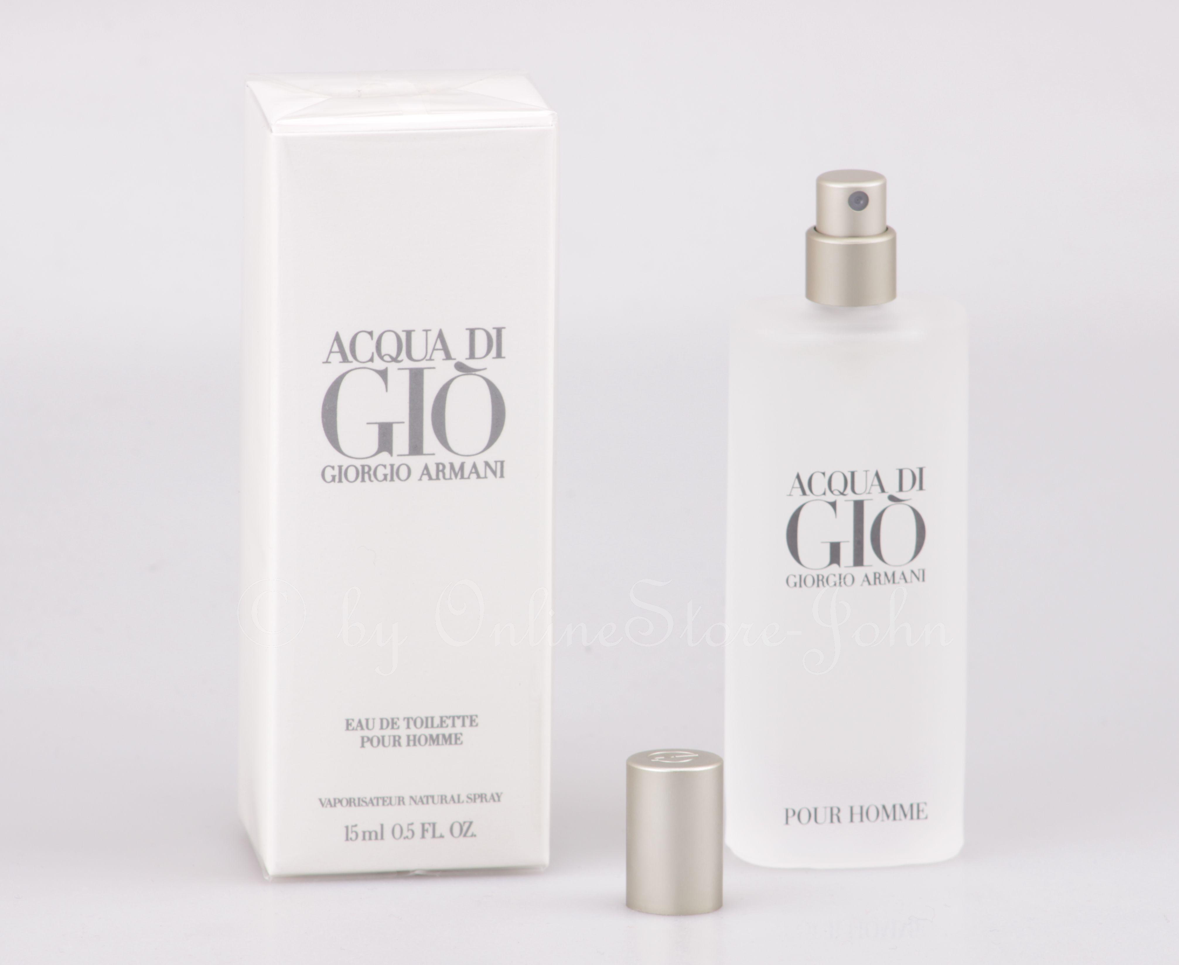 Giorgio Armani - Acqua di Gio pour Homme - 15ml EDT Eau de Toilette 4c693e7aaea