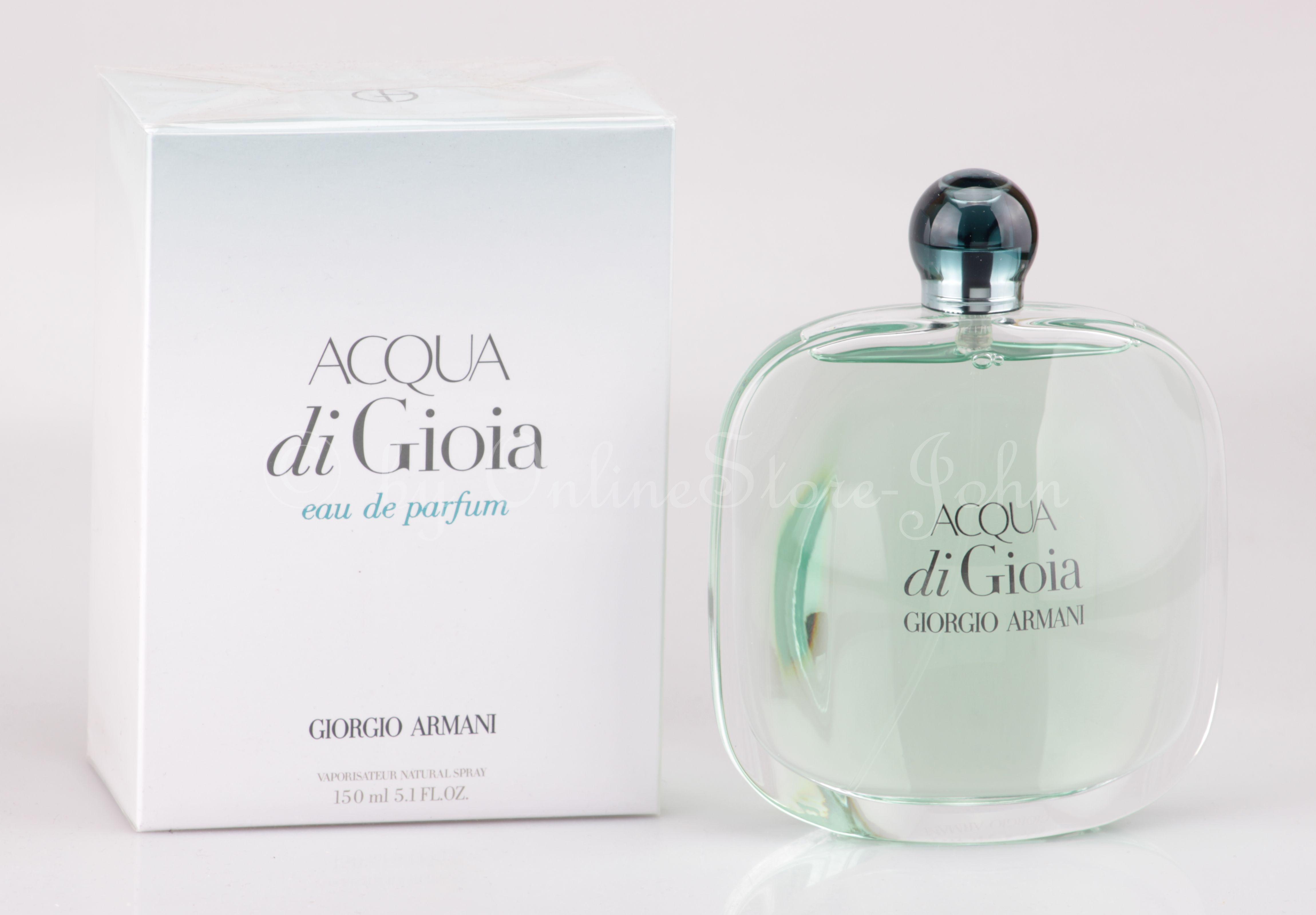 Giorgio Armani Acqua Di Gioia 150ml Edp Eau De Parfum