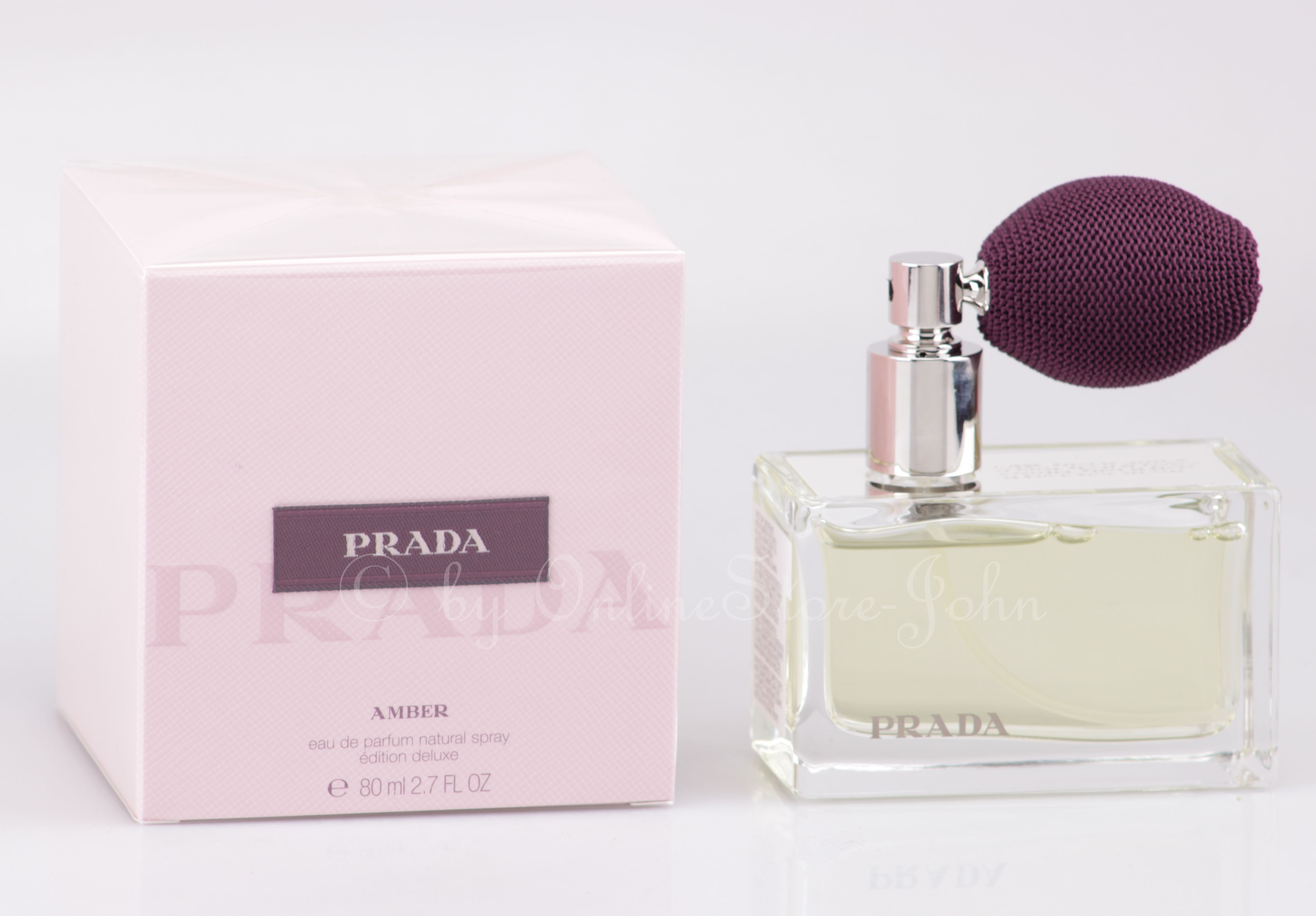 Edp Luxe Eau Amber 80ml Prada De Parfum Aj5R34L