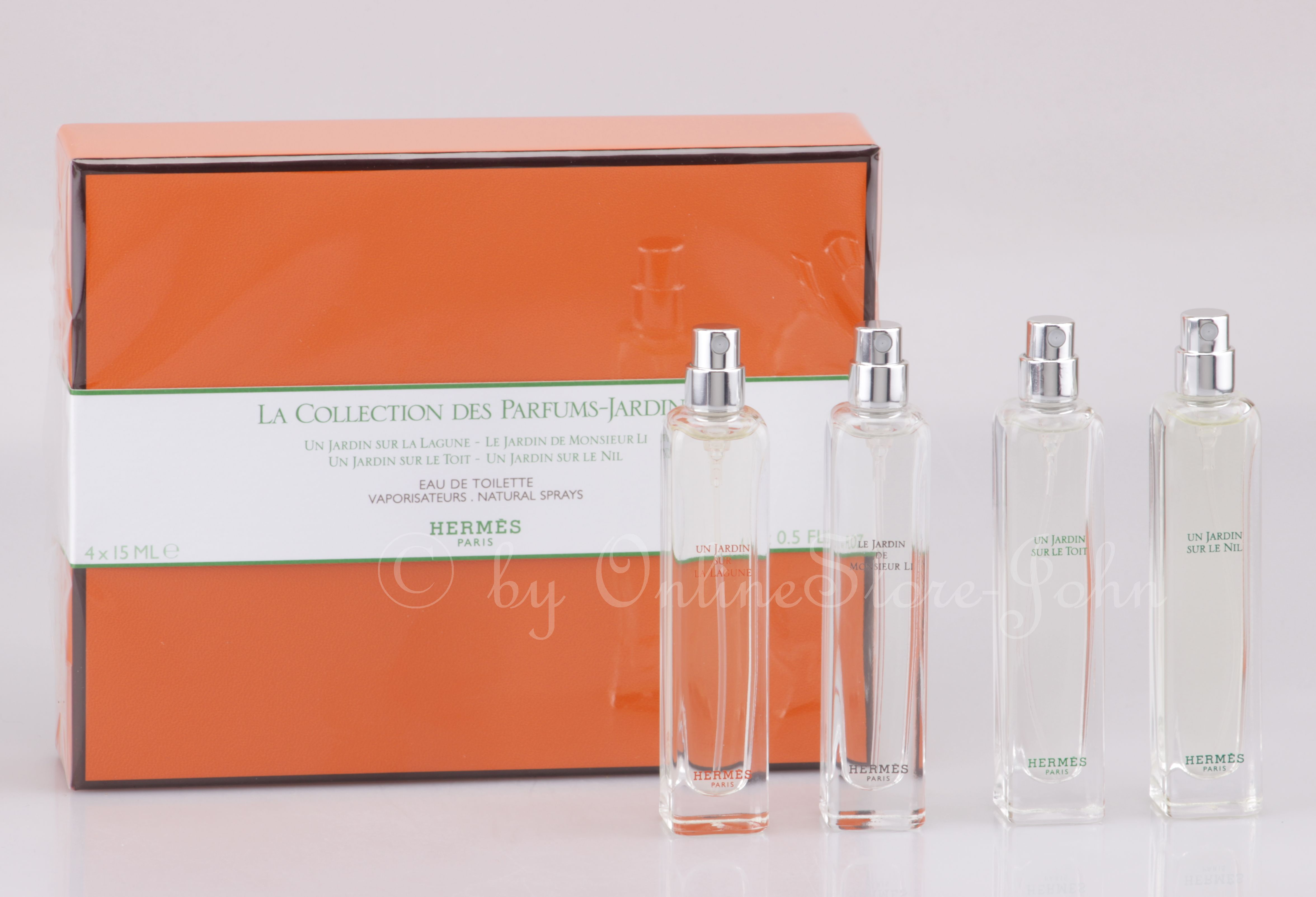 Hermes 15ml 4 Parfums Travelspray X Set Jardins La Des Collection srotBdxhQC
