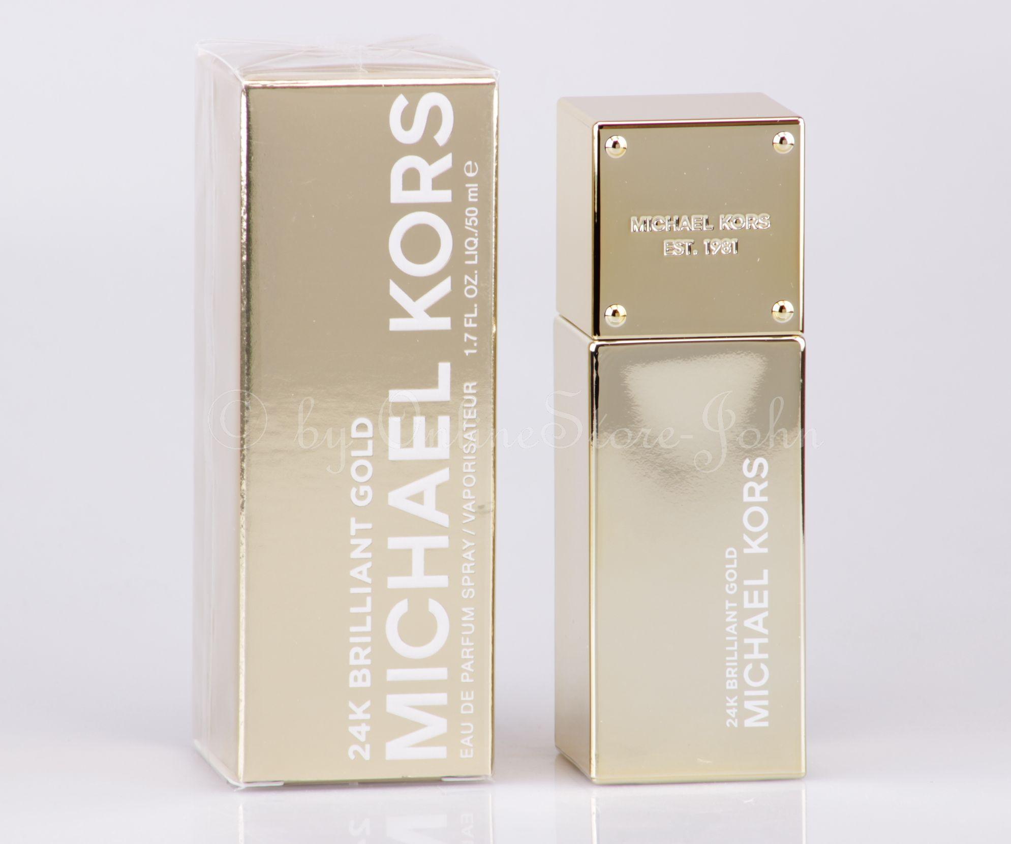 Michael Kors 24K Brilliant Gold 50ml EDP Eau de Parfum