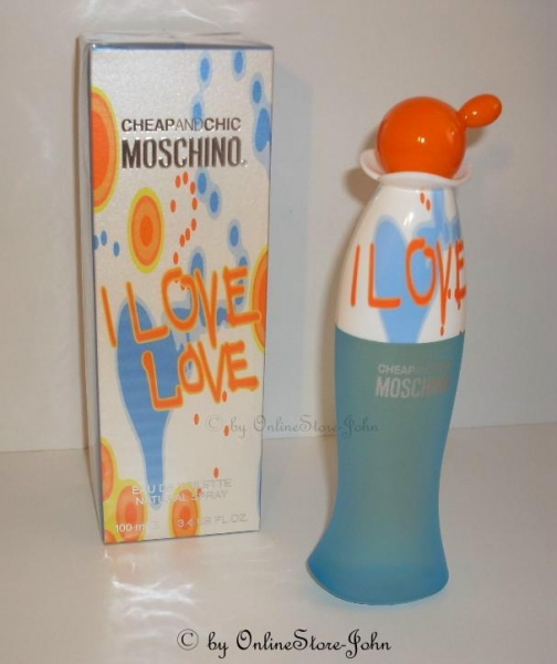 Moschino - Cheap & Chic - I Love Love - 100ml EDT Eau de Toilette