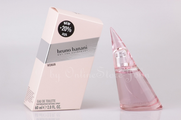 Bruno Banani - Woman - 60ml EDT Eau de Toilette - Not for Everybody