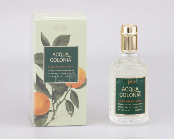 4711 - Acqua Colonia - Blood Orange & Basil - 50ml EDC Eau de Cologne