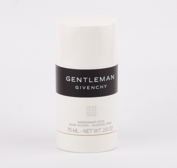 Givenchy - Gentleman - 75ml Deodorant Stick - Deostick - alcohol-free