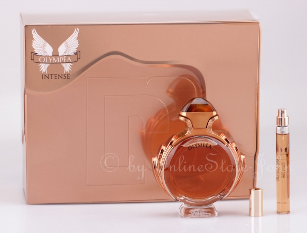 Paco Rabanne - Olympea Intense Set - 80ml EDP + 10ml EDP Travel-Spray - B-WARE