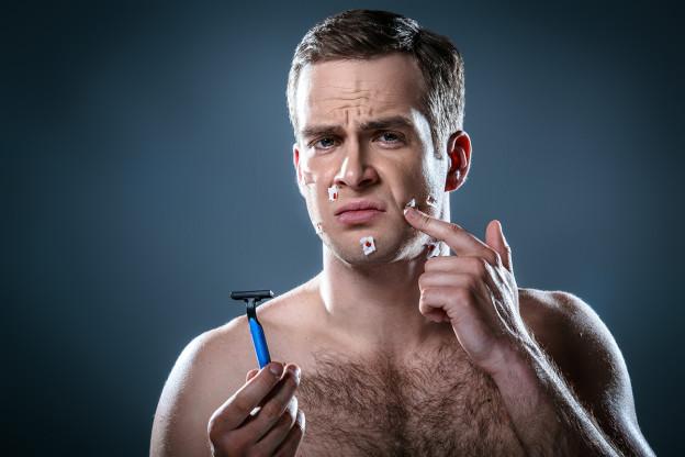 Weniger Schnitte bei der Rasur